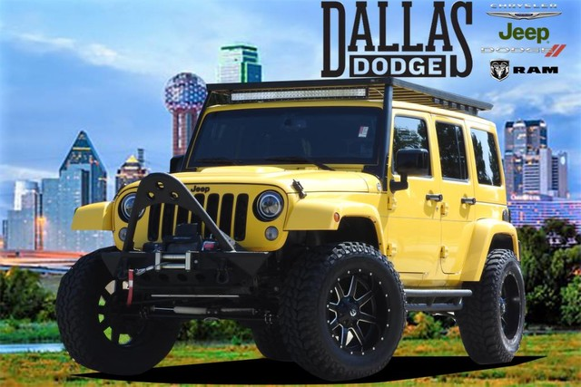 Pre Owned 2015 Jeep Wrangler Unlimited Altitude